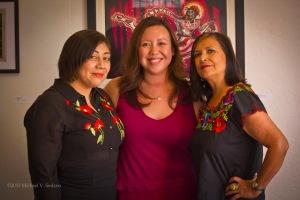 Cynthia Guardado, Michelle Brittan Rosado and Liz Gonzalez
